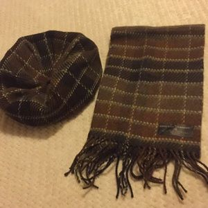 D&Y hat and scarf set